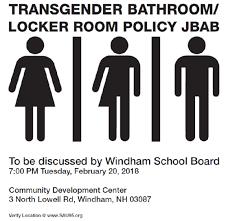 windham board transgender bathroom policy discussion