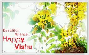 beautiful wishes happy vishu