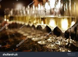 wine glasses cool delicious champagne white stock photo 349211513
