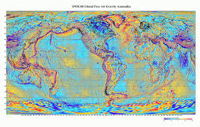 the map of the earth show the way to new finds