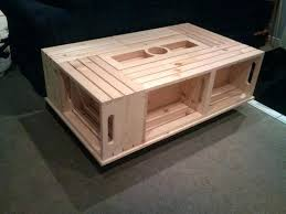 wine crate coffee table wood crate coffee table coffee table rolling rectangle wood crate