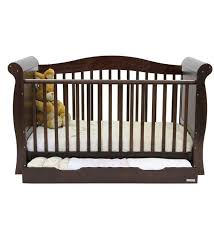 Sleigh Cot Bed Babystyle Hollie Sleigh Cot Bed Walnut Direct2mum