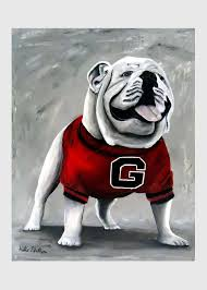 bulldogs greeting cards america