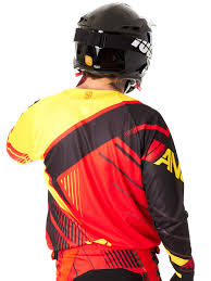 monster motocross jersey answer red black yellow 2016 elite mx jersey answer