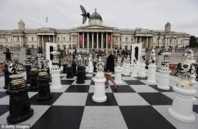 New York travel chess set images Check this giant chess board unveiled in trafalgar square becomes jpg