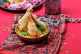 cuisine indienne riz cuisine indienne poulet rôti avec du riz photo stock image du