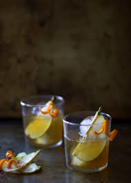 old fashioned cocktail garnish spiced pear bourbon old fashioned u2014 my diary of us