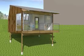 portland backyard retreat michael dant architect
