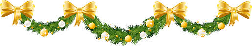 halloween reef transparent background christmas garland border clip art free u2013 happy holidays