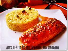 cuisiner pavé de saumon au four recette saumon au four vinaigre balsamique miel aux délices du palais