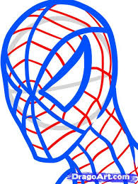 draw spiderman easy step step marvel characters draw