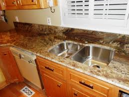 Medium Brown Kitchen Cabinets Neptuno Bordeaux Granite 4 24 13 Granite Countertops Installed In