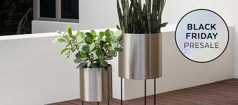 Indoor Plant Vases Modern Outdoor Planters Allmodern