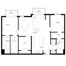 floor plans hello apartments d7 1362 sq ft