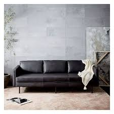 leather sofa best 25 black leather sofas ideas on living room