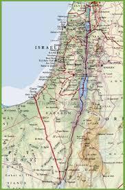 Israel World Map Israel Maps Maps Of Israel