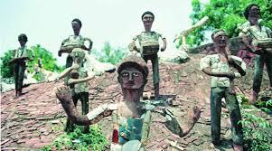 Nek Chand Rock Garden As An Exception Ut To Install Statue Of Nek Chand Inside Rock