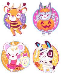 happy halloween animal crossing fan art pinterest happy