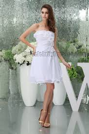 graduation white dresses discount white strapless party homecoming graduation dresses