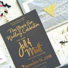 new years wedding invitations confetti new years invitation creative lettering calligraphy