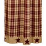 primitive shower curtains shower curtain hooks vhc brands