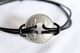 bracelet homme images State quarter bracelet coin bracelet homme leather jpg