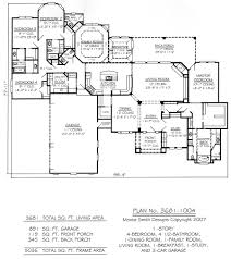 one story 4 bedroom 3681 sq ft home kitchen family breakfast