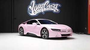 pink luxury cars west coast customs where a listers go for crazy car designs cnn