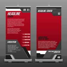 free printable vertical banner template vertical flag banner template vector download free vector art
