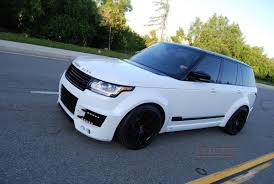land rover supercharged white 2015 lumma clr r widebody range rover rare cars for sale