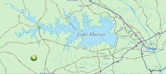 Columbia Sc Map Top Ten Interesting Lake Murray Facts