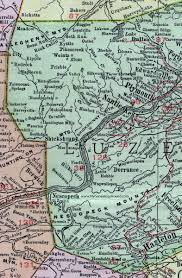 Map Pennsylvania by Luzerne County Pennsylvania 1911 Map By Rand Mcnally Wilkes