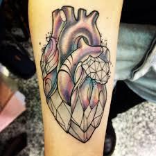 40 best glass heart tattoo images on pinterest heart tattoos