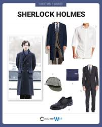 Mens Formal Wear Guide Dress Like Sherlock Holmes Costume Halloween And Cosplay Guides