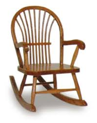 Oak Rocking Chairs Sheaf Child U0027s Rocking Chair Amish Furniture For Nursery And