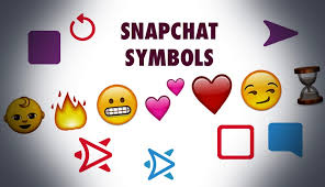 android symbol meanings snapchat symbols meaning of all snapchat icons emojis
