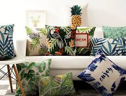 Fashion Pineapple Throw Pillow For Living Room Toucan Decorative - Decorative pillows living room