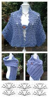 simple pattern crochet scarf simple crochet lacy shell stitch shawl free pattern for beginner
