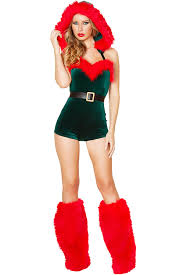 christmas costume green faux fur romper christmas costume 023527 christmas