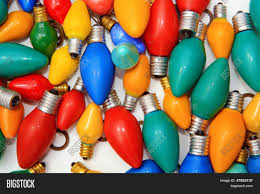 red and white bulb christmas lights retro vintage style holiday lights image photo bigstock