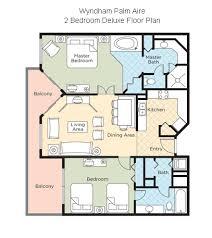 Wyndham Bonnet Creek Floor Plans Tripbound Com Wyndham Palm Aire
