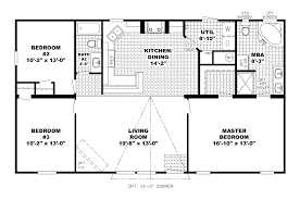 one story house plans with and bedroom floor interallecom 5 2