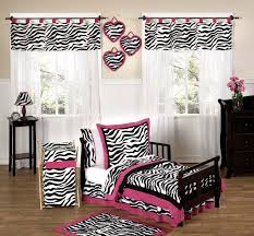 girls cowgirl bedding pink white u0026 black zebra print toddler comforter bedding