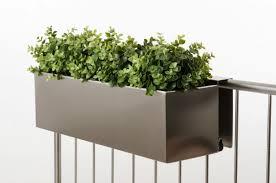 balkon blumenkasten mit halterung balkon blumenkasten aus edelstahl carprola for