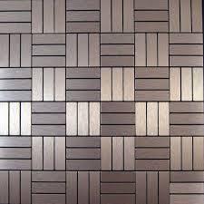 SAVE   Sheets Brushed Copper Color Aluminium Metal Self - Self adhesive tiles for backsplash