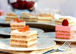 layered jello mousse cake a spicy perspective