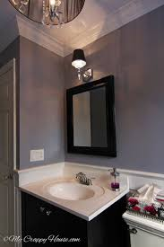 Bathroom Mirror Lighting Ideas Colors Best 20 Purple Bathroom Paint Ideas On Pinterest Purple