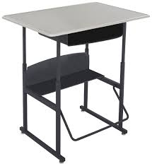 Individual Student Desks Fascinating Student Desk Brown Laminate Wood Top Black