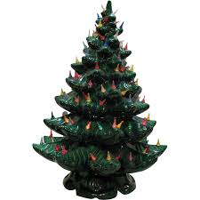 ceramichristmas tree with lights new parts ebay to