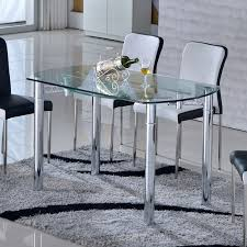 table de cuisine moderne en verre table jardin en verre orleans maison design trivid us